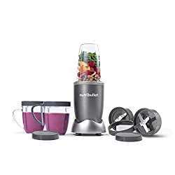 NutriBullet NBR-1201 12-Piece High-Speed personal Blender/Mixer System, gray