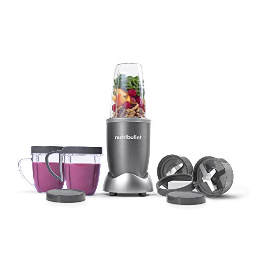 Image of the NutriBullet NBR-1201 12-Piece High-Speed Blender/Mixer System, Gray (600 Watts)