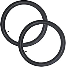LAXEEM 2Pack 2.75/3.00-21 Off Road Motorcycle Replacement Inner Tube With TR4 Staight Valve Stem(Fit:90/80-21, 90/90-21, 100/80-21)