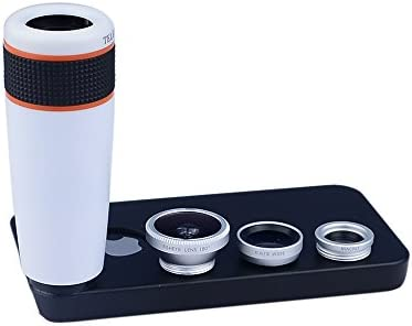Apexel iPhone 4 4S Camera Lens Kit including 8x ABS Telephoto Lens Wide Angle Lens Macro Lens product image