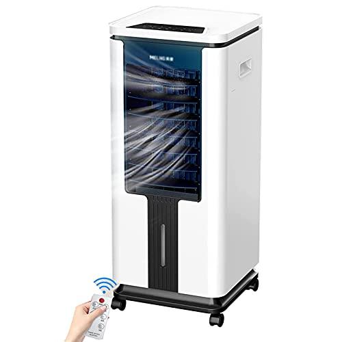 Unità di climatizzazione mobile portatile per il raffreddamento 15000BTU, dispositivo di raffreddamento dell'aria, display a LED, 3 velocità della ventola, timer di 12 ore, 9L Great Water Serbatoio