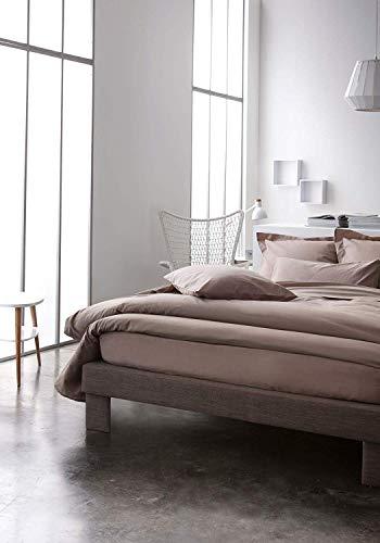Today Drap Housse Jersey - 100% Coton - Mastic - 160x200 cm