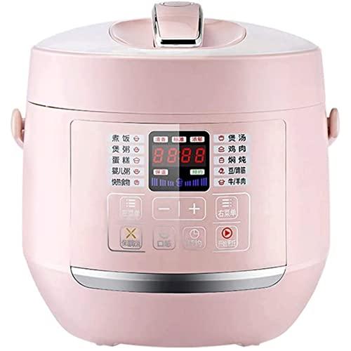 ZBQLKM Cocina de presión eléctrica, Cocina Grande de 2. 8L de Gran Capacidad, Olla a presión de Escape de un Solo botón con Cita 24 Horas y Pantalla de Pantalla Ancha, for cocinar