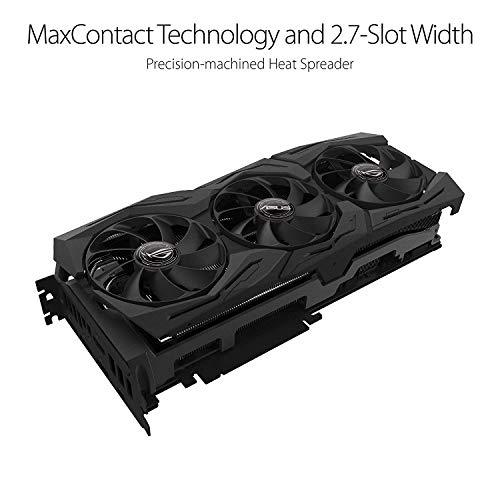 ASUS ROG Strix GeForce RTX 2080TI-O11G GDDR6 HDMI DP 1.4 USB Type-C Gaming Grafikkarte (ROG-STRIX-RTX-2080TI-O11G)