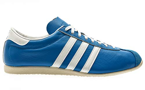 adidas Originals Overdub, Bright Blue-Footwear White-Cream White, 7