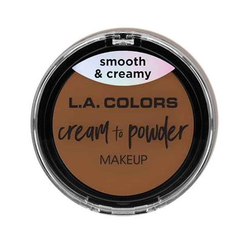 (3 Pack) L.A. COLORS Cream To Powder Foundation - Tan (並行輸入品)