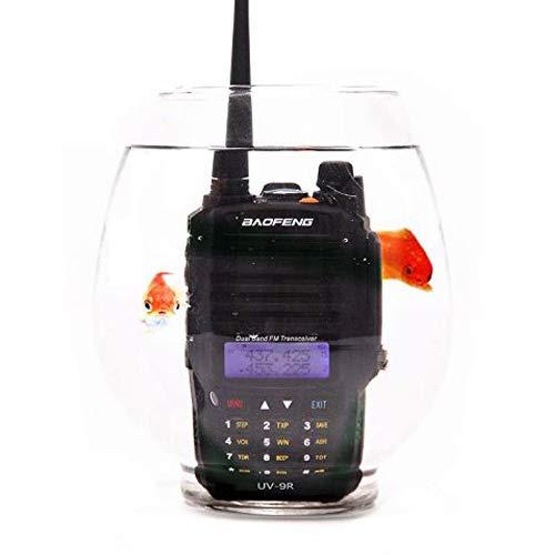 Baofeng UV-9R Dustproof Waterproof IP67 Transceiver Walkie Talkie Two Way Radio with A Telescopic Antenna