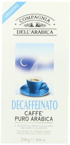 Compagnia dell¨Arabica - Kaffee Decaffeinato - Café Descafeinado Puro Arábica 250g