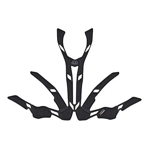 Troy Lee Designs A2 2.0 X-Static Helm Headliner Off-Road BMX Fietshelm Accessoires XL/XXL Zwart