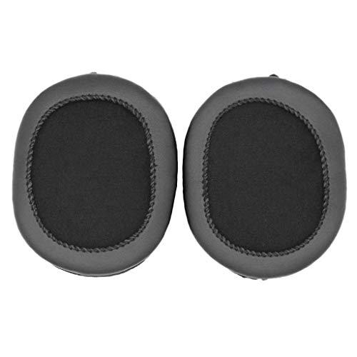 Almofadas de substituição para fones de ouvido Audio Technica ATH-M50X M40X M30 M40 M50 SX1, preto, 1 par