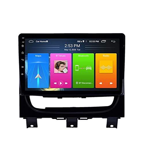 Android 8.1 Radio De Automóvil para FIAT Strada Idea 2012-2016 Coche Estéreo GPS Navegación Táctil Pantalla Player Doble DIN Head Unit Support WiFi Control del Volante(Color:con CANBUS)