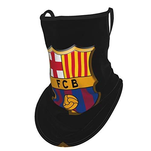 FC Barcelona - Pañuelo para el cuello, reutilizable, lavable, tela para motocicleta, pasamontañas para hombres y mujeres