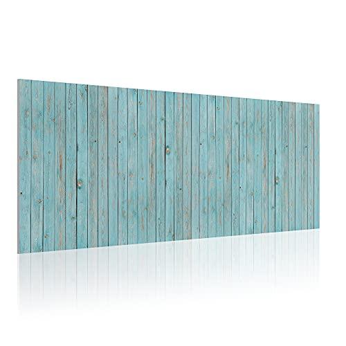 Cabecero para Cama de 135 cm, Imitación Madera, PVC Estampado, 145 x 60 x 0.5 cm, CAB-011