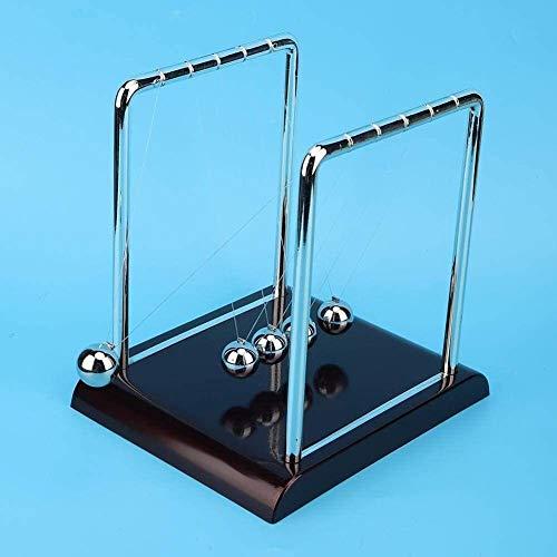 RENFEIYUAN Péndulo Bola Juguete Cuadrado Forma Equilibrio péndulo Pelota Juguete casa Oficina Oficina Mesa Regalo Regalo Bolas de Newton (Size : #3)