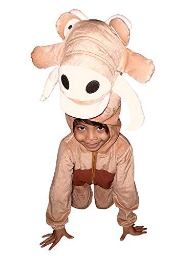 SU01 Taille 120-125 Costume de Warthog, Costume de costume de Warthog, Costume de carnaval de Warthog, pour bébés, tout-petits, enfants pour carnaval Carnaval de Carnival, adapté en cadeau d'anniversaire, Noël