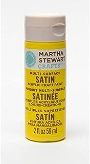 Martha Stewart Crafts Multi-Surface Satin Acrylic Paint: Meyer Lemon, 2 Oz