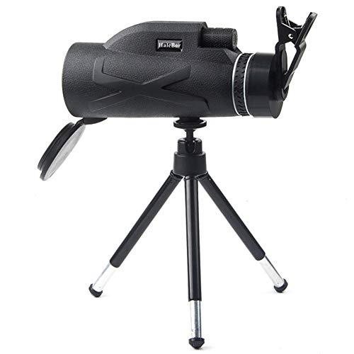 Fayeille - Telescopio monocular (80 x 100 mm, con clip ajustable, visión nocturna, resistente al agua, lente óptico para fotografía, No nulo, como se muestra en la imagen, 3