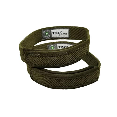 TickBanz Ankle Bands Repel and Kill Ticks and Chiggers with...