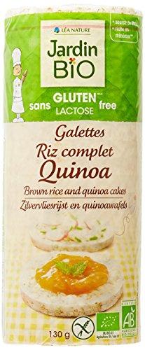 Jardin Bio Galettes Riz Complet Quinoa sans Gluten 130 g