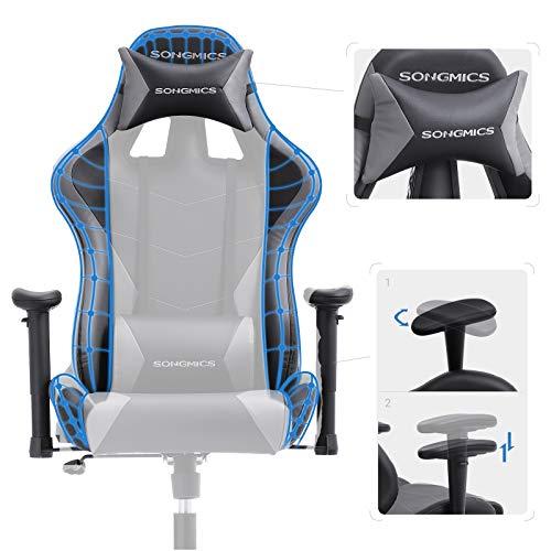 SONGMICS Gaming Stuhl 150 kg Bürostuhl Bild 5*