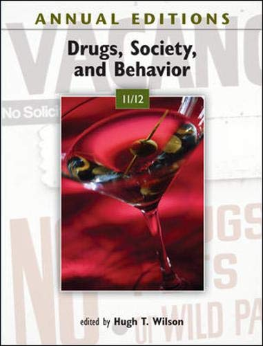 Annual Editions: Drugs, Society, and Behavior 11/12