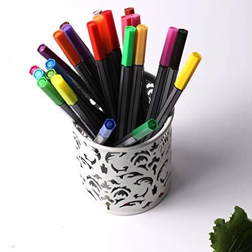 NIUPAN 24 kleuren aquarel pen dunne lijntekening 0,4 mm pen tip schets art supplies markeerstift school kantoor glad briefpapier