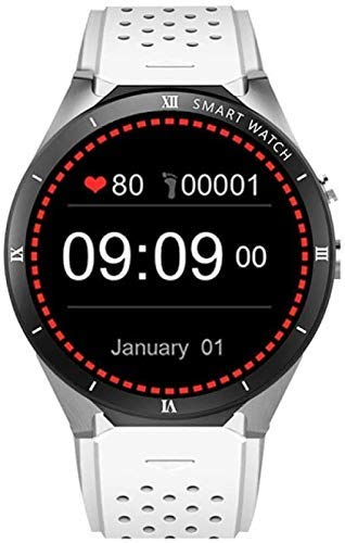 WXDP Reloj electronico,Inteligente, Monitor de Ritmo cardíaco rastreador de Ejercicios de 1.39 Pulgadas, podómetro, Monitor de sueño, Contador de calorías, un cronómet