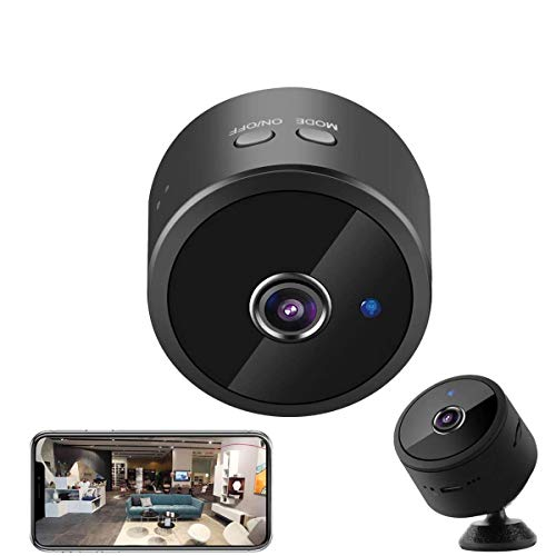 Spy Camera WiFi Hidden Camera Wireless 40 Days Standby Security Cam Real-time Remote View Switch Mini HD Motion Detection Night Vision Small Cam with Phone APP Surveillance Cam for Office Indoor