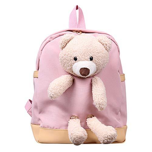 Picapoo Mochilas de peluche con diseño de oso de dibujos animados para niños, niñas y niñas, regalo de Pusheen el gato, mochila, cosas lindas, mochila grande