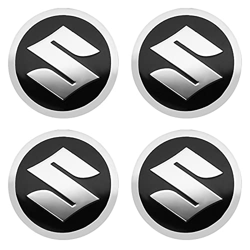 4 unids 56mm Car Styling Llanta Centro Hub Cap Rim Covers etiqueta para Suzuki Grand Vitara SX4 Swift Jimny Kizashi Liana