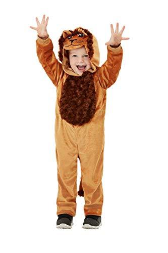 Smiffys 47707T1 - Disfraz de león para niño, unisex