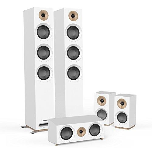 Jamo S 809 HCS W 5.0Kanäle Weiß Lautsprecherset - Lautsprechersets (5.0 Kanäle, Heimkino, Weiß, AC)