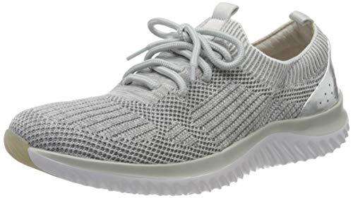 Gabor Shoes Damen Rollingsoft Sneaker, Grau (Grau Kombi 12), 43 EU