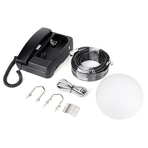 Conexión para teléfono satelital Teléfono satelital Teléfono marítimo con antena activa para exteriores Práctico accesorio