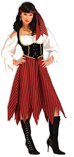 Forum Novelties Women's Adult Pirate Maiden Costume, Multi Colored, Standard