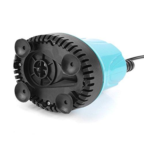 Zyyini Dompelpomp, micropomp, draagbaar, energiebesparend, draagbaar, hoge prestaties, geschikt voor vijverlandschap in het aquarium, 2