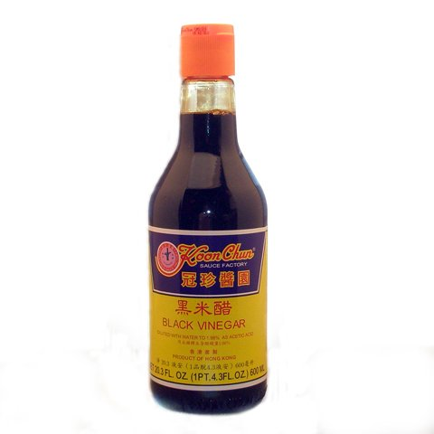 Koon Chun Black Vinegar, 20.5 Ounce