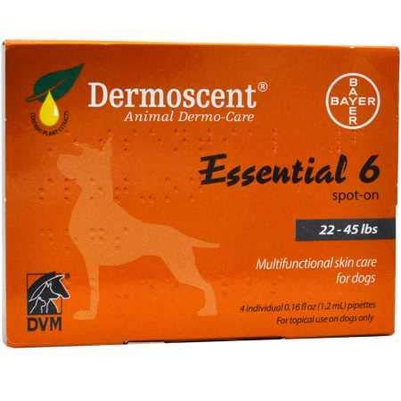 Merial Dermoscent4Pipetas de Spot OnPerroEntre 10-20 kg