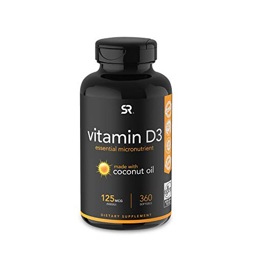 Vitamin D3 5000 IU-360 Count