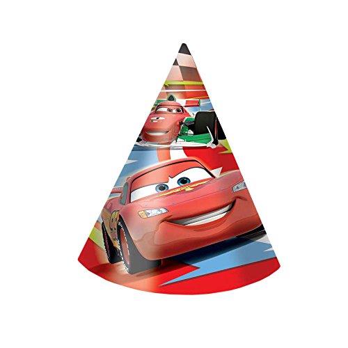 Procos//Disney Lot de 6 petits chapeaux /« Planes Disney /» pour f/êtes et anniversaires