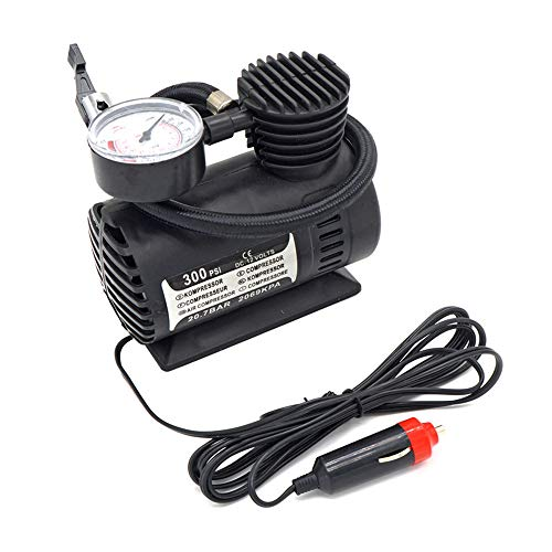 Wagtail Mini compresor de Aire-Mini compresor de Aire portátil Bomba infladora de neumáticos eléctrica Coche de 12 voltios 250 PSI ✅
