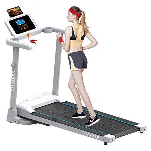 Libobo_HOME 【US Stock】 Libobo Folding Treadmill Electric Motorized Running Machine LED Eye Protection Display 2.0HP Folding Electric Motorized Running Treadmill Speakers Bluetoot