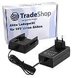 Cargador de batería para Worx 18 V baterías de ion de litio como WA3512 WA3512.1 WA3511 WA3516 WA3520 WA3523 WA3525 WA3575 Rockwell RW9161 / estación de carga cable de carga