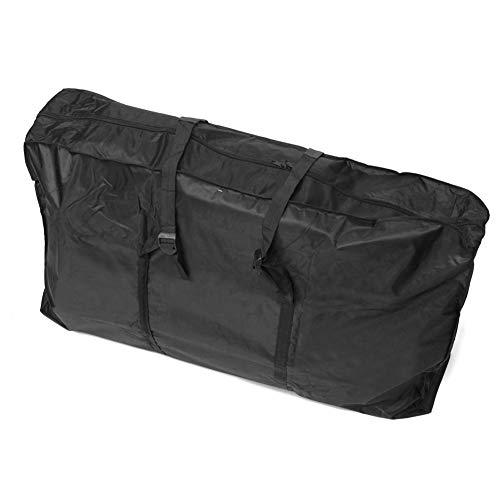 GYFHMY Bike Travel Bag, 1680D Transport draagtas met een draagband voor 26 Inch vouwfiets, Handbagage Perfect voor Luchtverzending, Reizen