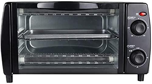 Pequeño horno eléctrico MULTI-COVILLER, 10 l Capacidad 30 minutos Control 0-230 ° Control de temperatura, cocinero portátil / horneado / parrilla / horno halógeno