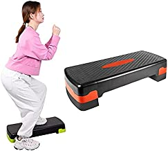 Fitness Pedaal Ritme Pedaal Verstelbaar Sport Yoga Fitness Aerobics Pedaal, Maat: 78 x 30 x 10 cm lijaxin