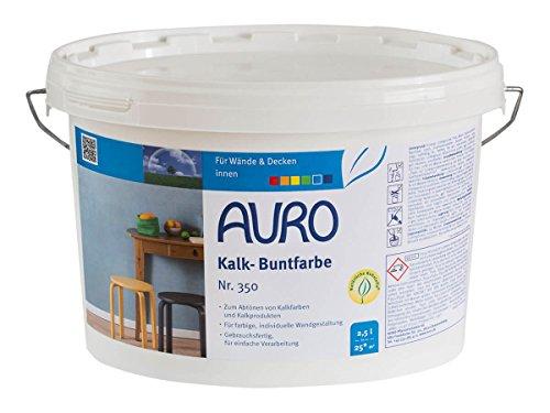 AURO Kalk-Buntfarbe Terracotta 2,5 L