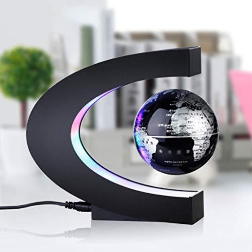 GLOOPE 3 inch magnetische verlichting wereldbol desktop decoratie, plug-in, hars decoraties, verzamelobjecten, geschenken, 220V, Chinese versie