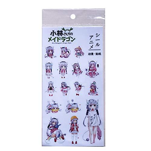 Haushele OFD Netter Anime Manga Transparente Aufkleber Tagebuch Japanische Schreibwaren Kawaii( H06)
