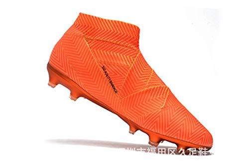 Scarpe da Calcio da Uomo Tacchetti da Allenamento Caviglia Alta Scarpe da Calcio Sportive con Punte Lunghe 7.5